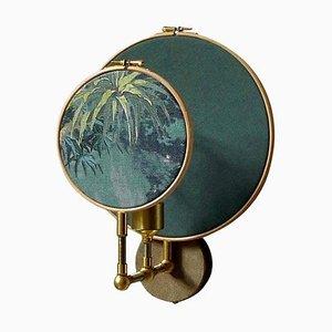 Circle Wandlampe in Blau & Grau von Sander Bottinga