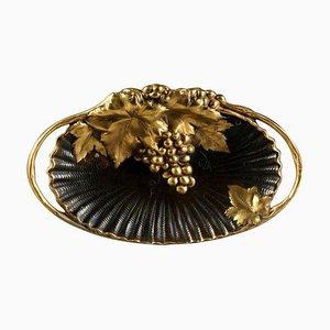 French Gilt Bronze Tray