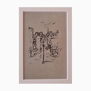 Orfeo Tamburi, Paris, Lithograph, 1946