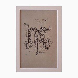 Orfeo Tamburi, Paris, Lithographie, 1946