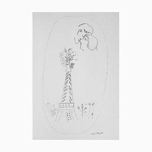Poems of Love, Buch Illustriert von Marc Chagall, 1930