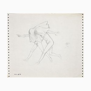 Leo Guida, Two Figures, Drawing, 1970s