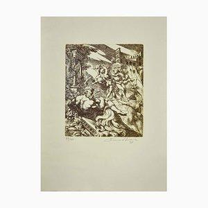 Bruno Bruni, Mythologische Figuren, Radierung, 1997