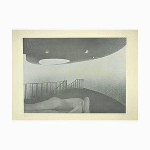 Umberto Mariani, Nudes, Lithographie, 1975