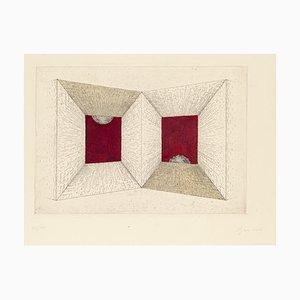 Bruno Conte, Composition, Radierung, 1960er