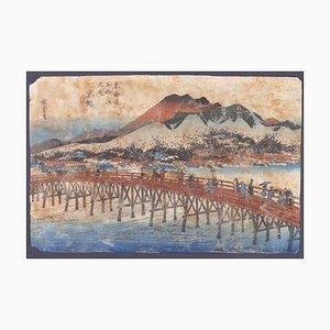 Utagawa Hiroshige, Keishi (Kyoto), Holzschnitt, 1833
