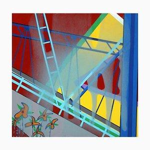Mauro Bellucci, Untitled, Enamel Paint on Canvas, 2020