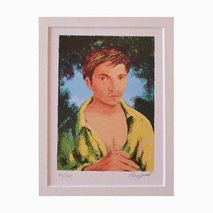Purified Domenico, Portrait, Siebdruck, 1975