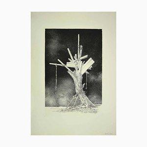 Leone Guida, Albero della vita, Acquaforte, anni '70