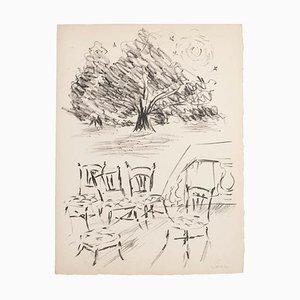 Studies, Lithografie, Mitte des 20. Jahrhunderts
