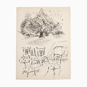 Studies, Lithograph, Mid-20th-Century