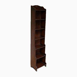 Oak Waterfall Bookcase
