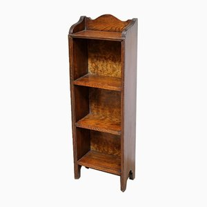 Small Proportioned Solid Oak Open Bookcase