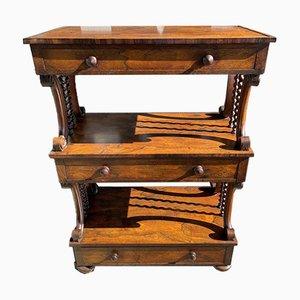 Antique Rosewood Console Shelf