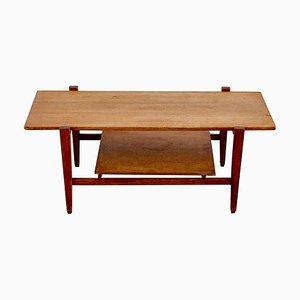 Danish Wood Coffee Table, 1960s