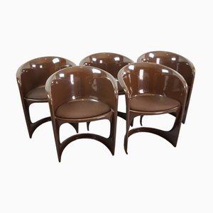 Esszimmerstühle von Steen Ostergaard für Cado, 1960er, 5er Set