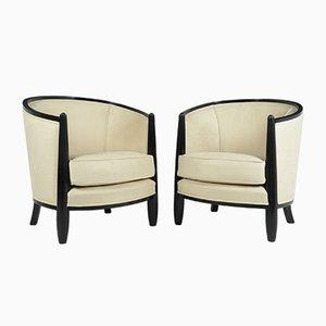 Art Deco Sessel von Paul Follot, 2er Set