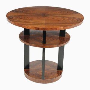 Art Deco Walnut Center Coffee Table