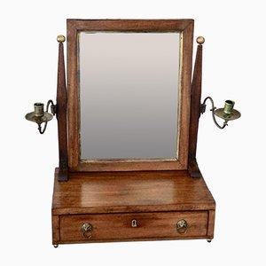 Late 19th Century English Mahogany Dressing Mirror