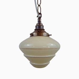 Beehive Pendant Lamp with Chain Suspension