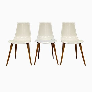 Shell Chairs, 1960s, Set of 3