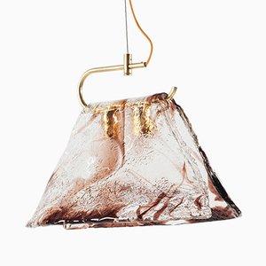 Große Deckenlampe aus Muranoglas von Carlo Nason für Mazzega
