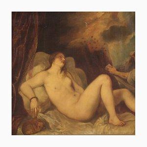Large Mythological Painting, Danae and the Golden Rain