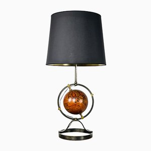Lampada da tavolo con sfera, anni '50