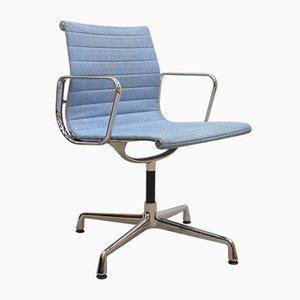 Mehrfarbiger Blauer EA108 Alu Bürostuhl von Charles & Ray Eames für Vitra, 2000er