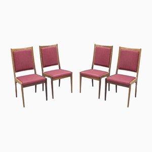 Dining Chairs by Karl-Erik Ekselius for Joc Vetlanda, 1960s, Set of 4