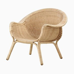 Danish Rattan Madame Chair by Nanna Ditzel, 1950s