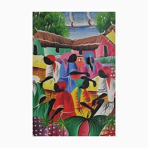 Pittura con cornice caraibica, inizio XXI secolo