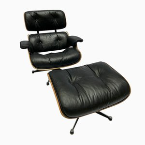 Lounge Chair & Ottoman by Charles Eames, 1977