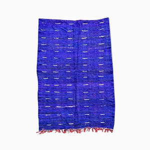 Vintage Moroccan Berber Kilim Rug