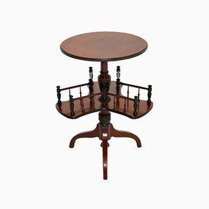 Antique Victorian Occasional Table Bookstand