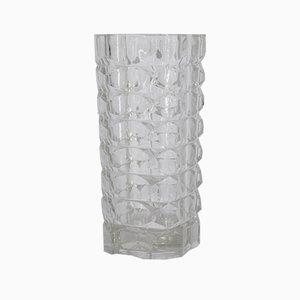 Französische Windsor Vase aus Glas von JG Durand für Luminarc, 1970er