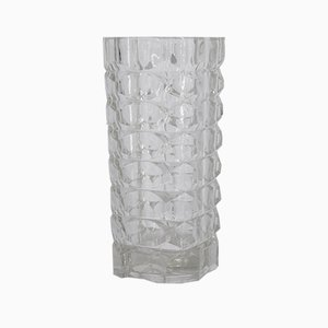 French Glass Windsor Vase by J. G. Durand for Luminarc, 1970s