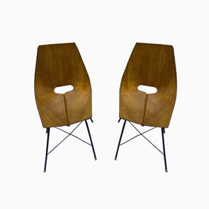 Medea Chairs by Vittorio Nobili, 1955, Set of 2