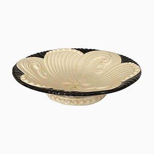 Frutero Art Déco de cerámica, años 20