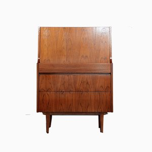 Mid-Century British Teak Secretaire from Elliots of Newbury, 1960s