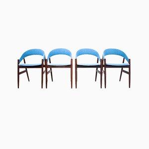 Danish Chairs, 1960s, Set of 4