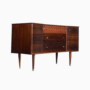Mid-Century Walnut & Teak Sideboard from Uniflex, 1960s