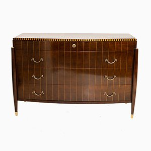 Art Deco Style Chest of Drawers, 1980s or 1990s