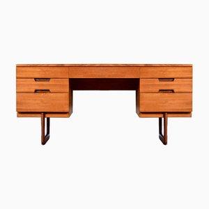 Teak Desk by Gunther Hoffstead for Uniflex, 1960s