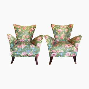 Vintage Casa e Giardino Armchairs by Gio Ponti, Set of 2