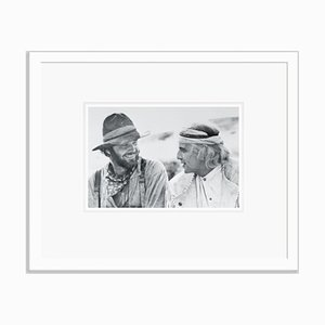 Nicholson and Brando Silver Gelatin Resin Print Framed in White by Bettmann