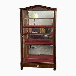 Late Biedermeier Showcase Cabinet