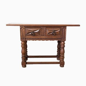 French Spanish Style Console or Hallway Table, 1960s