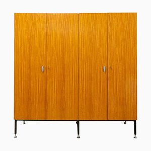 Armoire Four Doors Wardrobe, 1960s, France
