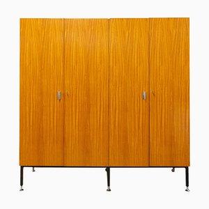 Armoire Kleiderschrank mit 4 Türen, 1960er
